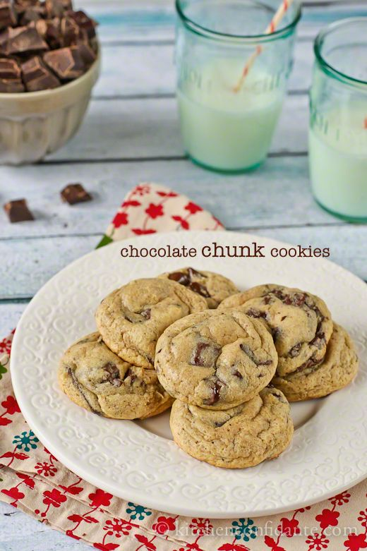 ULTIMATE Chocolate Chunk Cookies