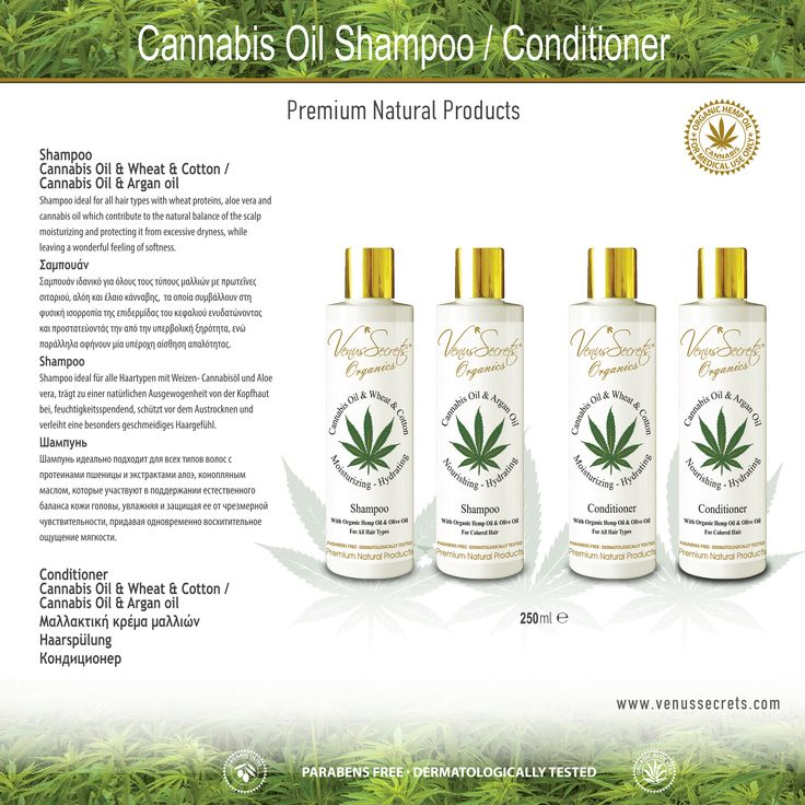 Cannabis Oil Shampoo / Conditioner