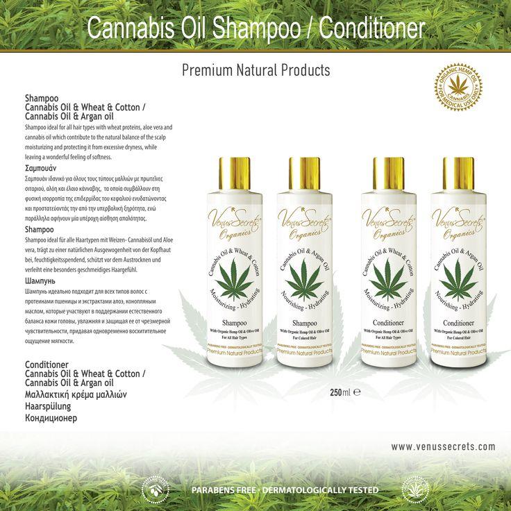 Cannabis Oil Shampoo / Conditioner