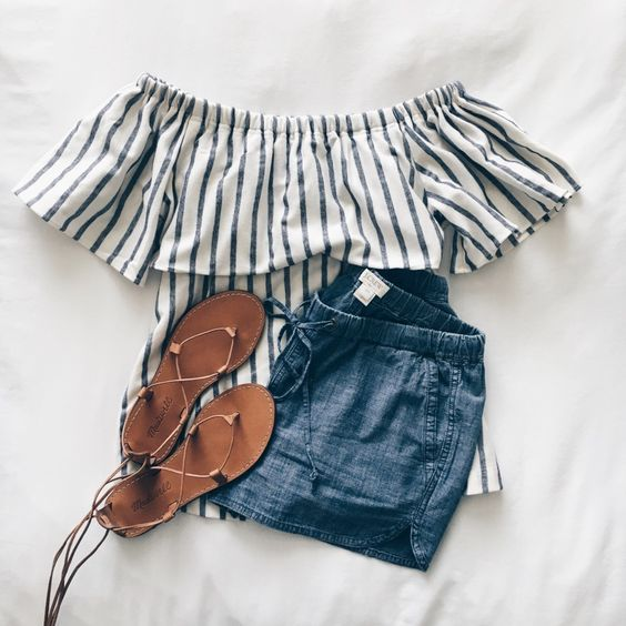 Latest Summer Outfits Collection. Lovely Look.