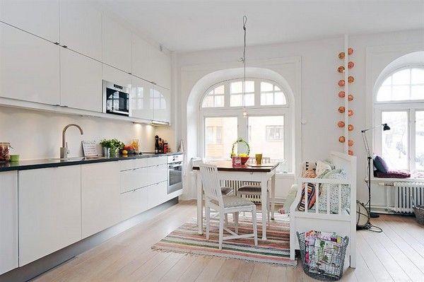 white, white kitchen
