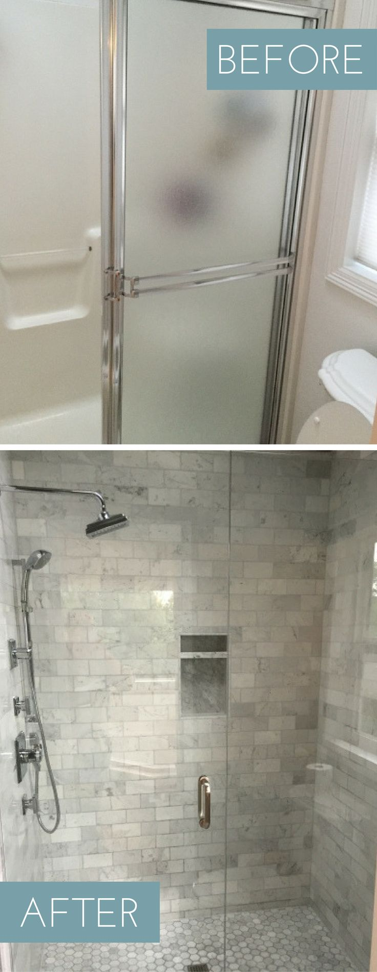 Best 25 budget bathroom makeovers ideas on pinterest - How much to build a new bathroom ...