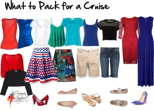 How to Pack a Wardrobe Capsule for a Cruise | Inside Out Style