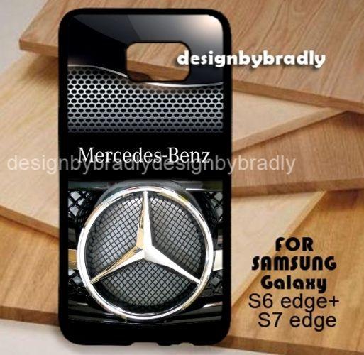 Mercedes Silver Steel Logo Samsung Galaxy S3 S4 S5 S6 S7 S8 Edge Plus Case #UnbrandedGeneric