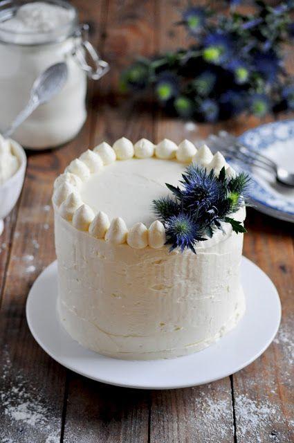 Elodie's Bakery: Vanilla and white chocolate layer cake | Layer cak...