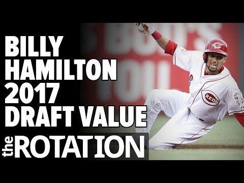 2017 Fantasy Baseball: Assessing Billy Hamilton's Draft Value w/ Brent Hershey | The Rotation