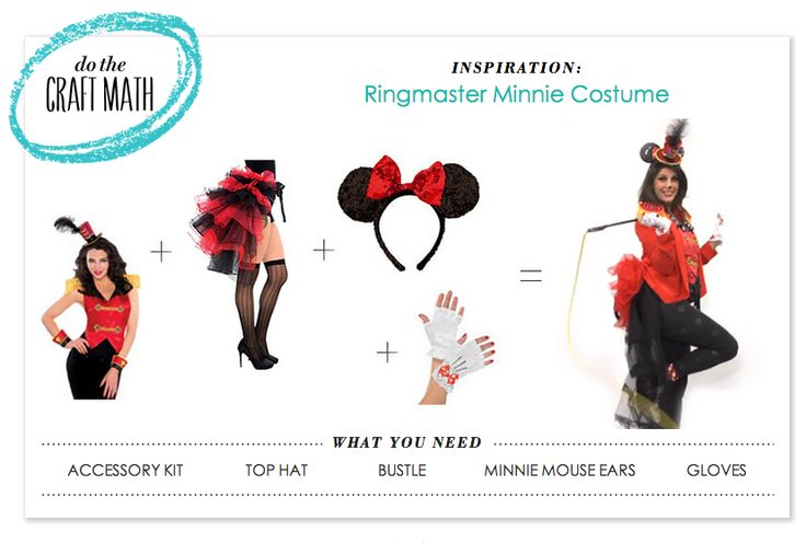 "P.S.- I made this...""Ringmaster Minnie"" Costume with @partycity #PSIMADETHIS #DIY #HALLOWEEN #MINNIE"