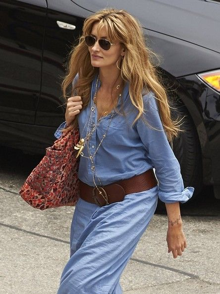 Natascha McElhone - 'Californication' Films in Venice