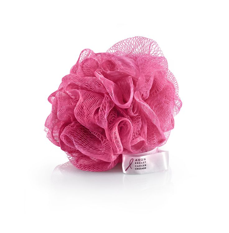Breast Cancer Bath Sponge, 9 lei. For every bath sponge purchased, profits from its sale will be donated to the Avon Breast Cancer Crusade.  Burete de baie, 9 lei, https://www.avon.ro/539-606/produse-campanii-sociale/campania-impotriva-cancerului-la-san/