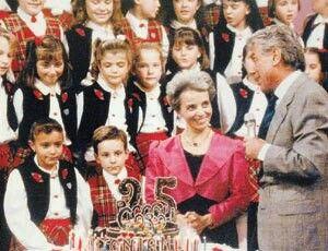 Zecchino d'oro con Cino Tortorella e Mariele Ventre