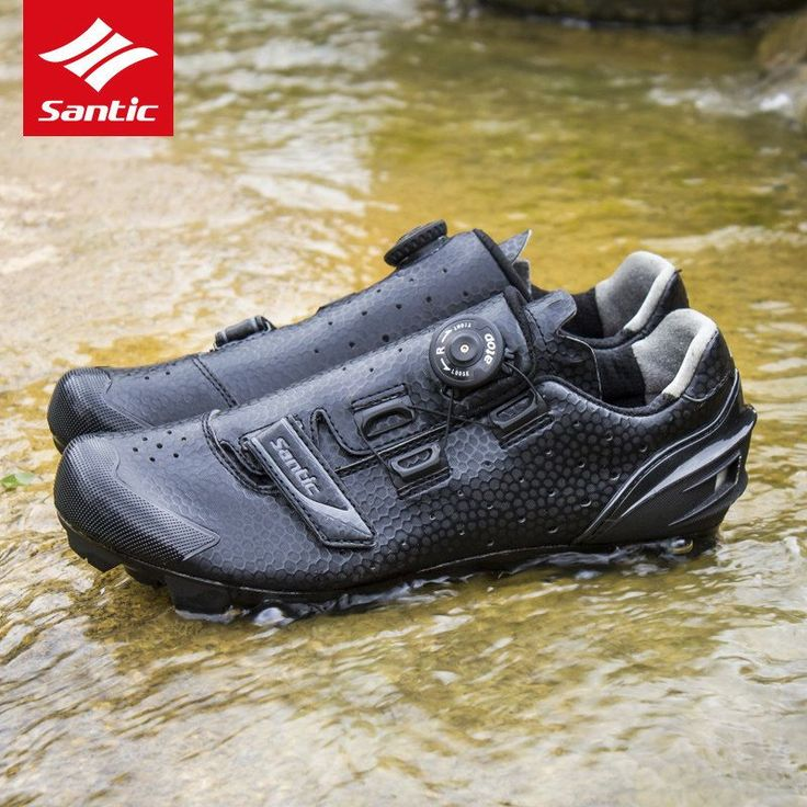 Santic Cycling Shoes PU Breathable MTB Shoes Cycling Sneakers Mountain Bicycle Athletics Shoe Bike Shoes Sapatilha Ciclismo Mtb