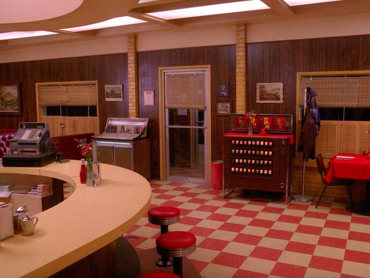 Double R Diner from Twin Peaks.