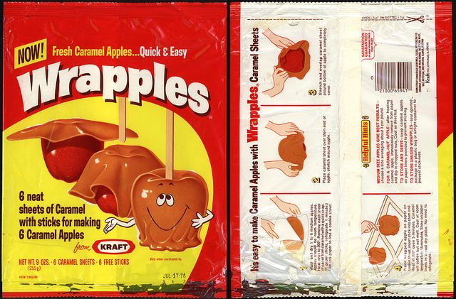 One of the best inventions ever! I would just eat then damn sheets of caramel! :-)Damn Sheet, Favorite Things, Clever Neat, Apples Kits, Dollhouse Printables, Classic Stuff, Life Hacks, Kits Packaging, Caramel Apples