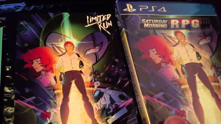 SATURDAY MORNING RPG PS4 UNBOXING LIMITED RUN GAMES LIMITED TO 1980 PHYS...