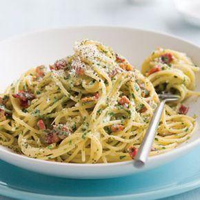 Spaghetti carbonara is lekker gezond en past prima binnen een dieet. Wil jij weten hoe je deze pasta maakt? Hier lees je precies hoe!