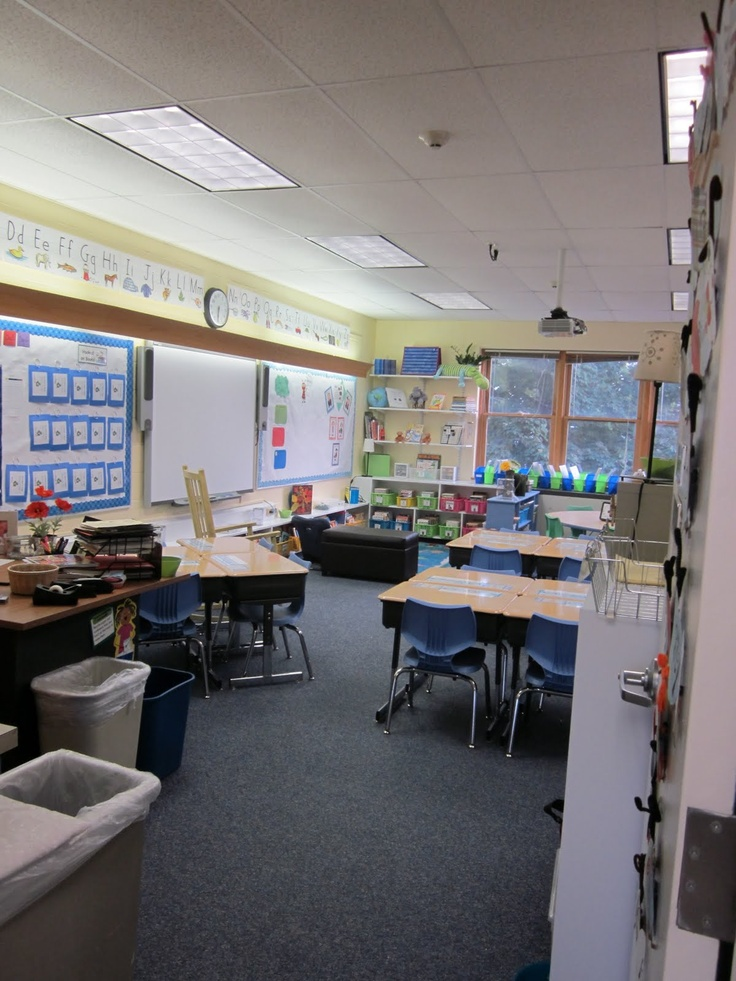 Classroom Layouts For Small Rooms ~ Great layout for small room classroom set up