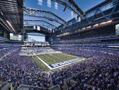 Lucas Oil Stadium, Indianapolis - Indianapolis Colts (NFL) - Capacity: 63 000 - #Stadium #Arena