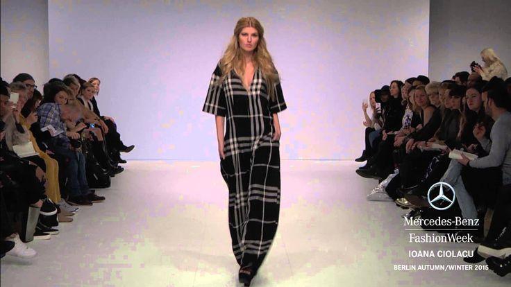 IOANA CIOLACU: Mercedes-Benz Fashion Week Berlin AW 2015
