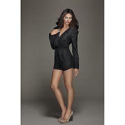 Kardashian Kollection Women's Georgette Back Short Jumper, $49.99