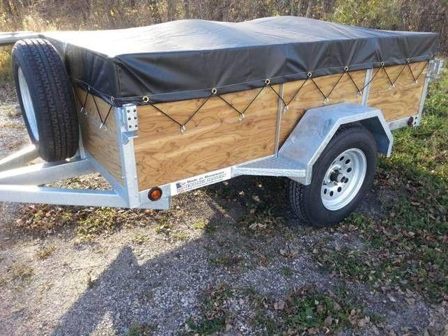 Utility trailer tarp anchors