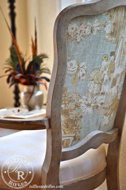 ♔ French Country Chair 12