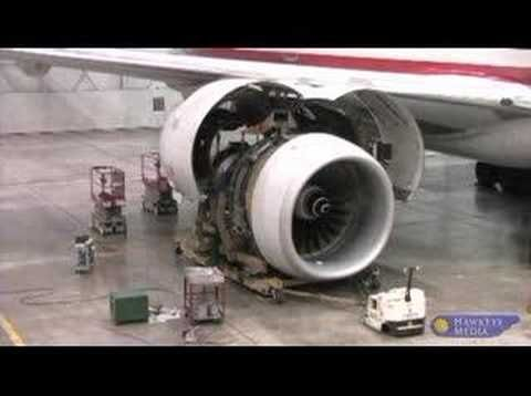 Boeing 777 2 Engine Change What a great job  planes