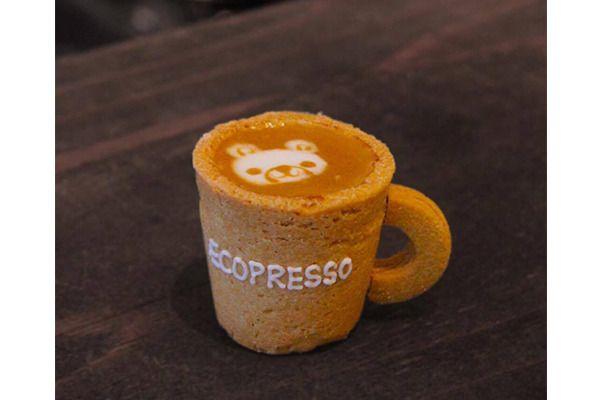 コーヒーカップまで丸ごと食べられる「Ecopresso TOKYO 青山」見に行きたい。東京都港区南青山3丁目8−35 https://shr.tc/2lvsu3A