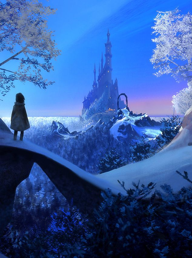 Ice Kingdom by Nikolai Lebedev