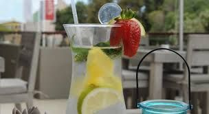 What better way to conclude your business than relaxing while sipping on a refreshing beverage