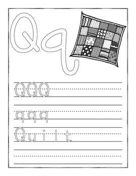 """LETTER """"Q"""" LEARNING PACK - TeachersPayTeachers.com"""