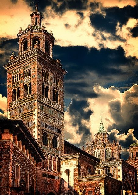 The Cathedral of Teruel is a church in Teruel, Aragon, Spain.