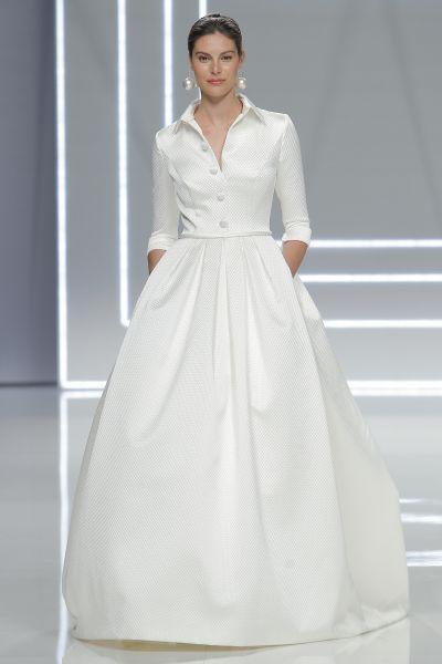 60 vestidos de novia corte princesa 2017 que querrás lucir ¡Elige el tuyo! Image: 51