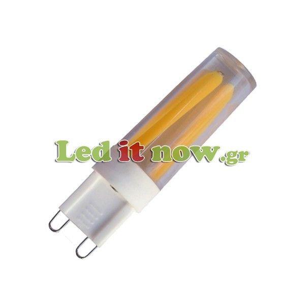 LED V-TAC Λαμπα G9 3W  Filament Retro 300° 300lm
