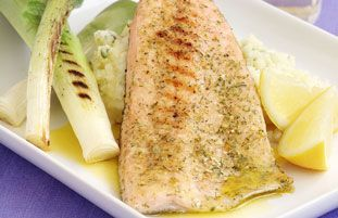 Schwartz recipe for Seared Trout Fillet with Baby Leeks, ingredients and recipe ideas for Fish and British cooking. Visit Schwartz for more recipe ideas.
