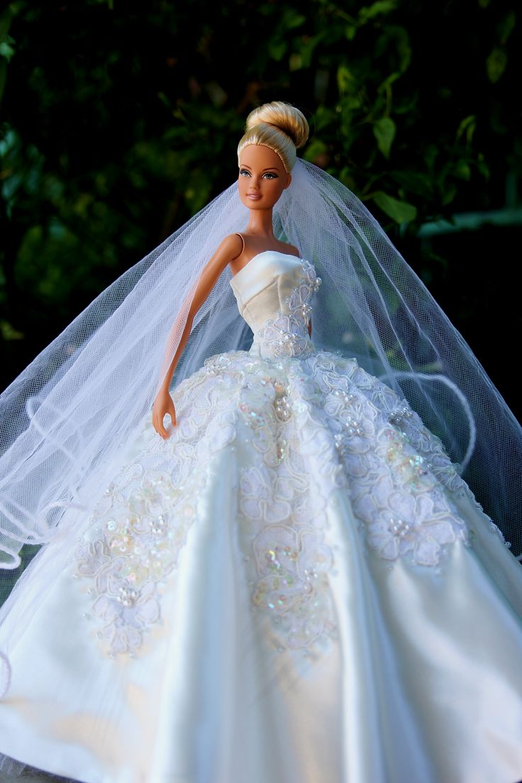 Would Be A Cute Idea To Make Barbie Dress From Your Wedding For Future Children