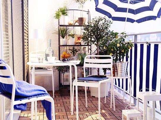 ikea balcony inspiration