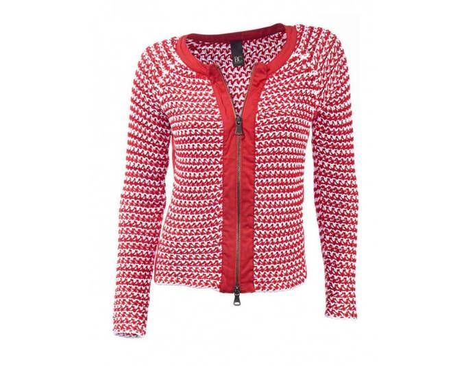 Heine-Best Connections Damen Strickjacke, rot-weiß Jetzt bestellen unter: https://mode.ladendirekt.de/damen/bekleidung/strickjacken-und-maentel/strickjacken/?uid=169e8709-4d15-5b09-a339-f28dadd3c493&utm_source=pinterest&utm_medium=pin&utm_campaign=boards #strickjacken #bekleidung #maentel