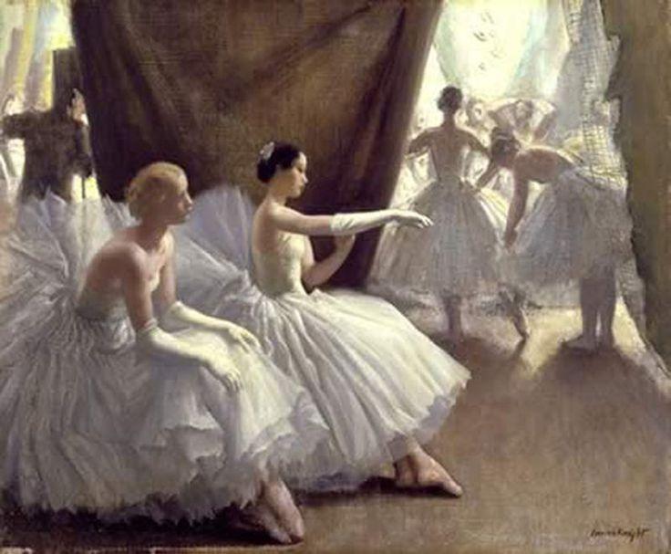 Laura Knight (1877-1970) - Ballet