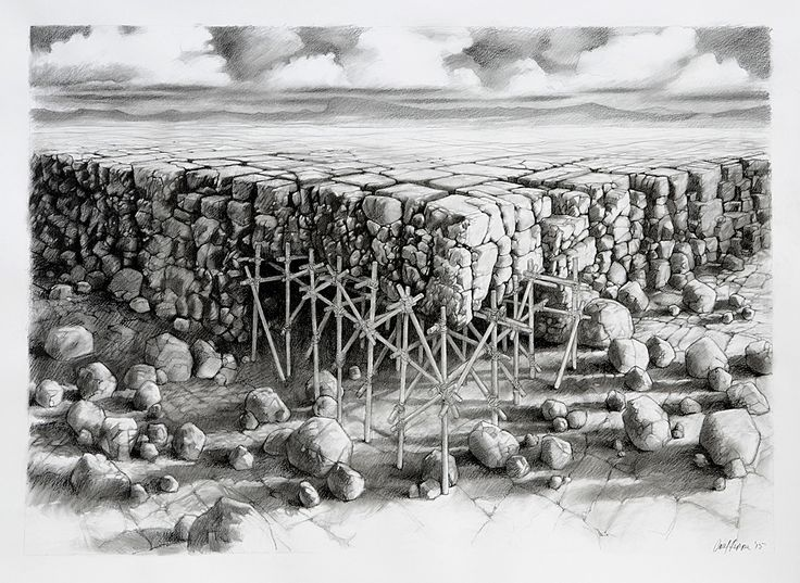 Carl Jeppe Shelter Compressed Charcoal (1540 x 1240 mm)