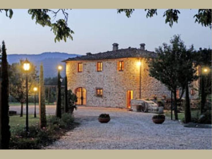 Vacation Rentals - Italy, Tuscany, Nr Siena - Villa Ponticelli - Sleeps 10