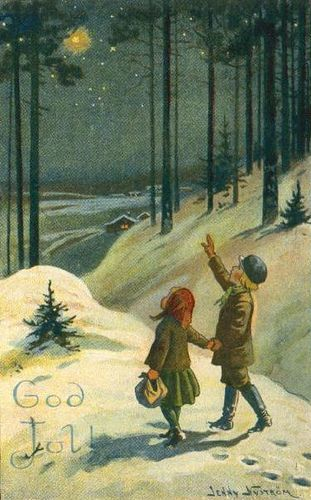 A magical night Jenny Nystrom 1921 by hagerstenguy, via Flickr
