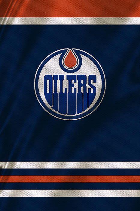 Edmonton Oilers Print By Joe Hamilton