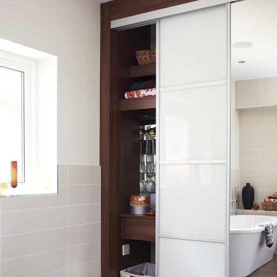 279 best secret compartments images on pinterest hidden for Hidden bathroom pics