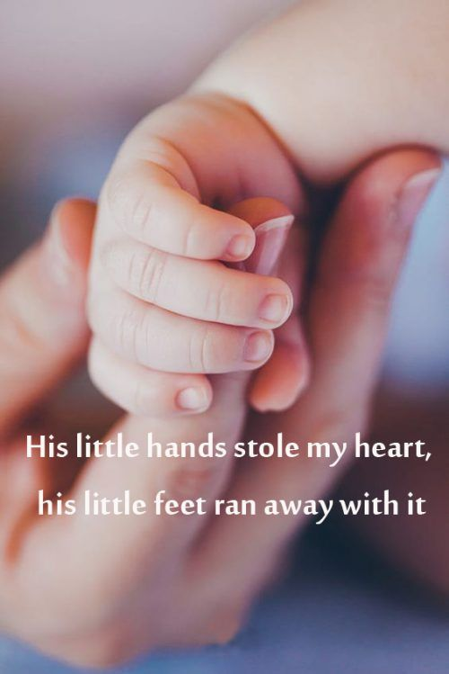 Top 20 Baby Quotes And Sayings For Mom 10 His Little Hands Stole My Heart Hd Wallpapers Wallpapers Download High Resolution Wallpapers Baby Quotes This Is Us Quotes Sayings