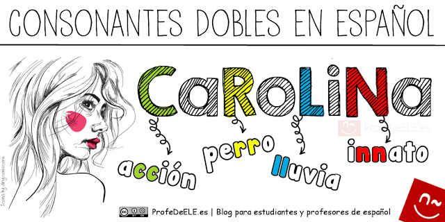 #Carolina #Consonantes Dobles