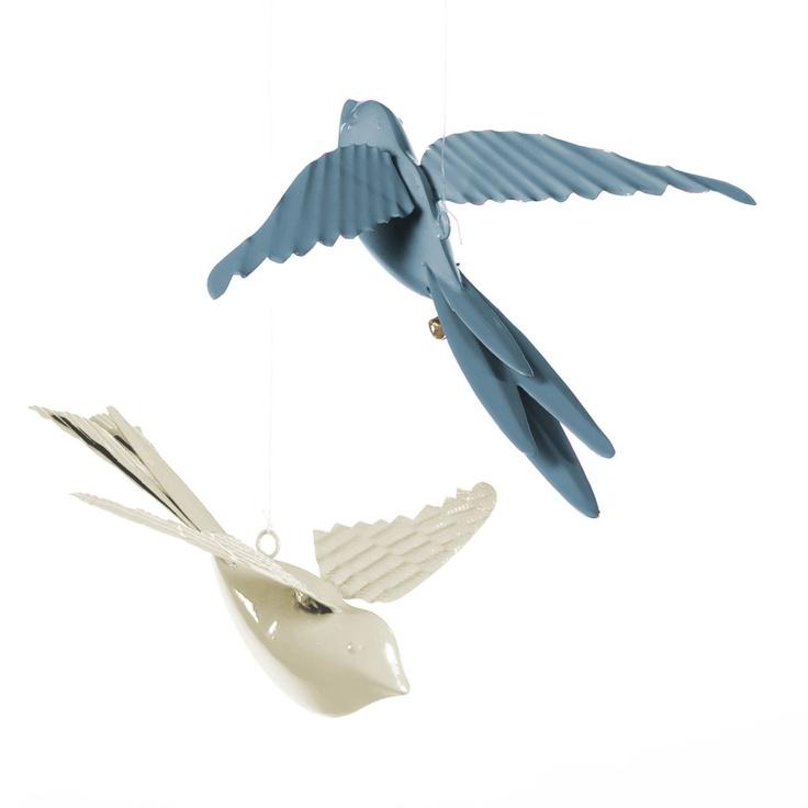 Oiseau Zozio (lot de 2), Am.Pm