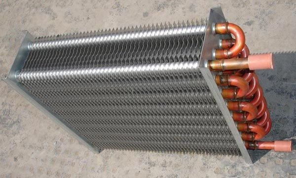 Finned U Tube Air Cooled Heat Exchanger - http://www.smartclima.com/finned-u-tube-air-cooled-heat-exchanger.htm