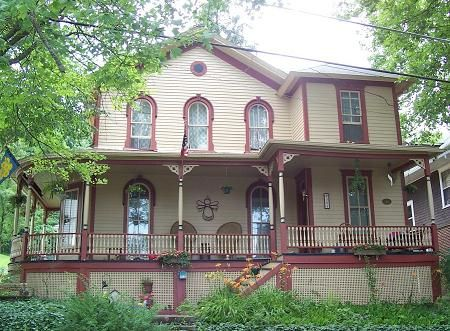 The Kline House 1883 Italianate Ridgway Pennsylvania Featured In Country Living Magazine