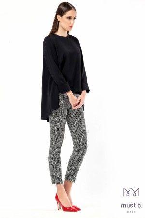Παντελόνι ψαράδικο ζακάρ fashion trousers spring summer 2015