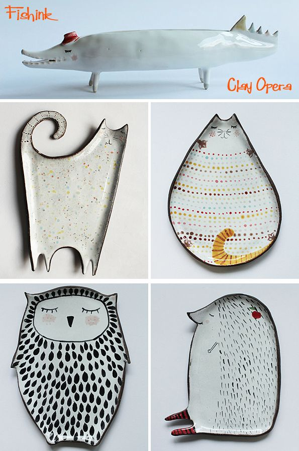 Fishinkblog 9219 Clay Opera 2 Check out my instagram.com/... my blog ramblings and arty chat here www.fishinkblog.w... and my stationery here www.fishink.co.uk , illustration here www.fishink.etsy.com and here carbonmade.com/.... Happy Pinning ! :)